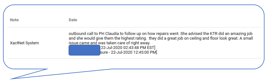 customer's comment 7.22.2020