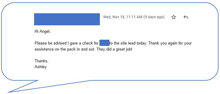 Customer Comment Nov 18